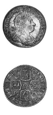 George I, Shilling, second lau