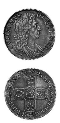 William III, Halfcrown, 1698 D