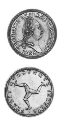 Proof penny, 1786, similar to