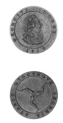 Restrike proof halfpenny, 1813