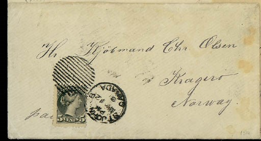 cover 1881 (12 May) envelope (