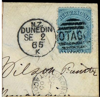 cover 1865 (2 Sept.) envelope