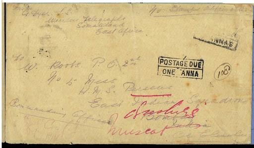 cover 1903 (3 Apr.) envelope,