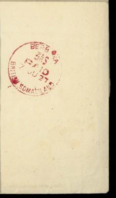 cover 1927 (7 June) OHMS envel