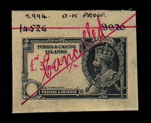 Proof  1935 Silver Jubilee Wat