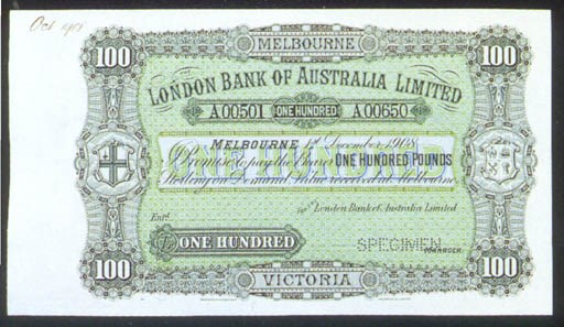 London Bank of Australia Limit