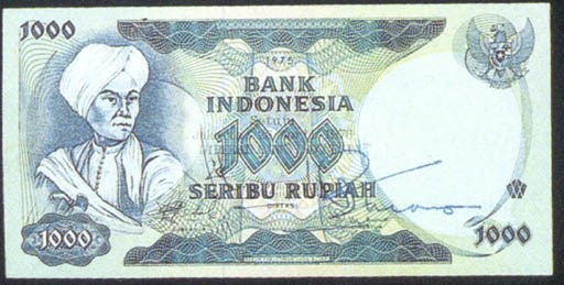 Bank of Indonesia 1000 rupiah
