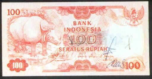 Bank Indonesia, 100 rupiah, 19