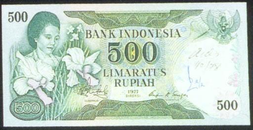 Bank of Indonesia; 500 rupiah,