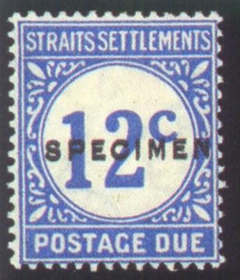 Specimen  1924 12c. bright blu