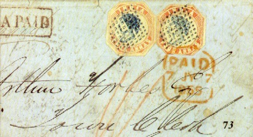 cover 1855 (May) entire (no si