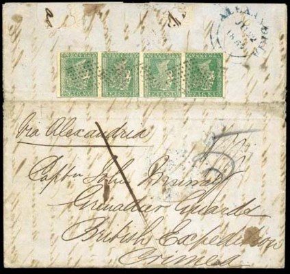 cover 1855 (9 May) entire lett