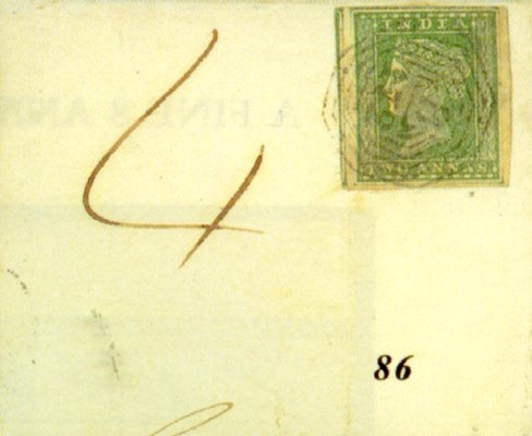 cover 1856 (4 Oct.) entire to