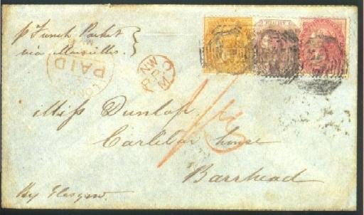cover 1867 envelope ex the