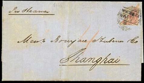 cover 1866 (27 June) entire le