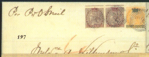 cover 1867 (30 Oct.) entire to