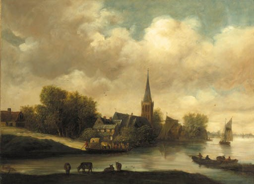 Manner of Salomon Ruysdael