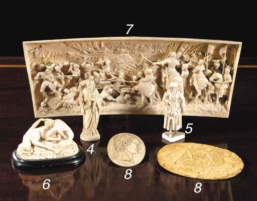 A carved ivory erotic group