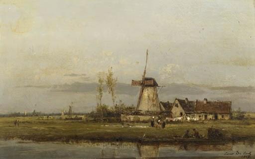 César de Cock (Belgian, 1823-1