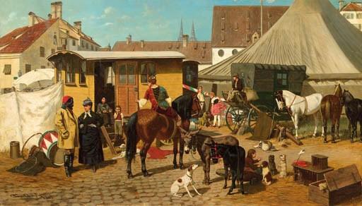 Franz Quaglio (German, 1844-19