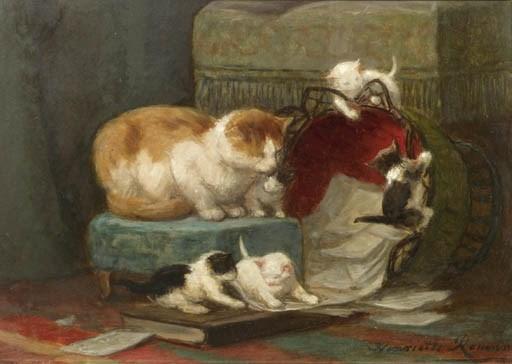 Henriette Ronner (Dutch, 1821-