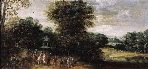 Follower of Esaias van den Vel