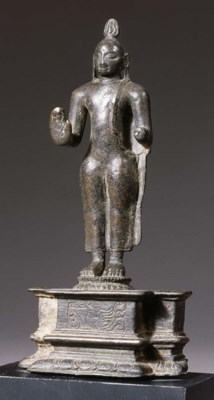 a sri lanka bronze buddha, a t