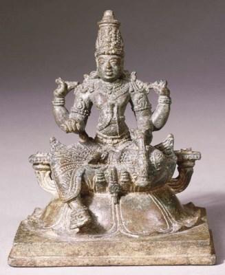 a south indian, kerala, bronze