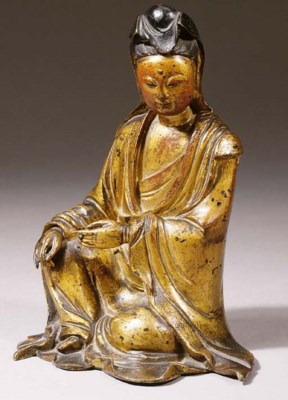 a chinese, ming dynasty, bronz