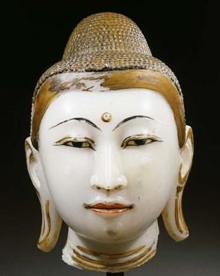 a burmese, mandalay, alabaster