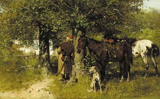 Josef von Brandt (Polish, 1841