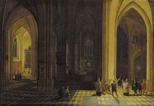 Pieter Neefs II (Antwerp 1578-