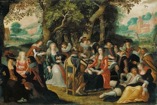 Circle of Louis de Caullery (a