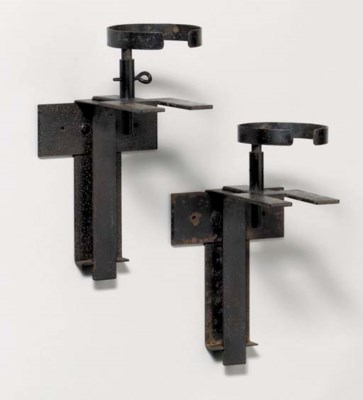 'PF83', A Pair of Wrought Meta