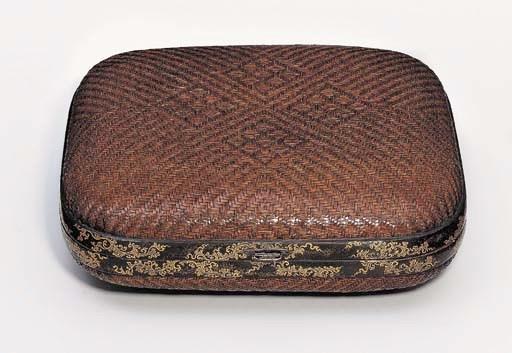 A BOX FOR SHIKISHI [POEM-PAPER
