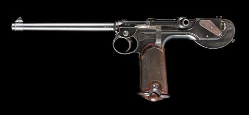 A BORCHARDT 7.65MM 1893 AUTOMA