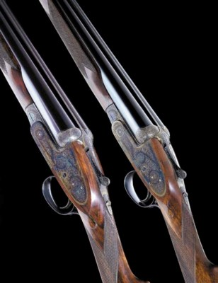 A FINE PAIR OF 12-BORE (2¾IN)