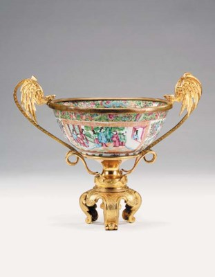 A Cantonese famille rose bowl,