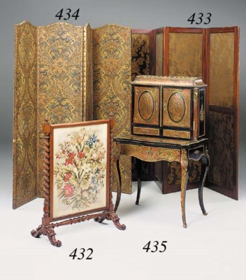 A Victorian rosewood and needl