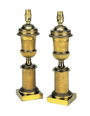 A pair of Second Empire ormolu