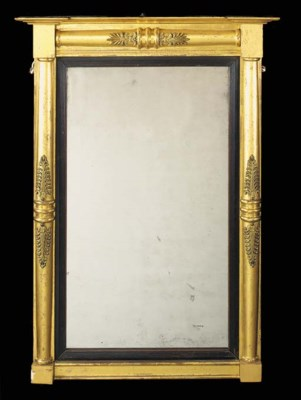 A Regency carved giltwood and