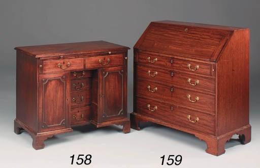 An unusual George III mahogany