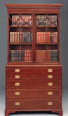 A George III mahogany, crossba