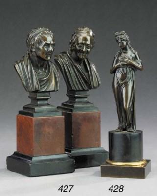 An Italian bronze figure of Ve