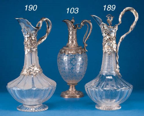 A WILLIAM IV CLARET JUG
