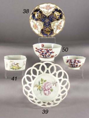 A Liverpool porcelain bowl