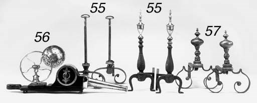 A pair of mechanical bellows,