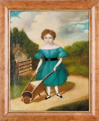 An English naive painting, 19t