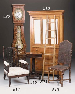 A French fuitwood armoire, 19t