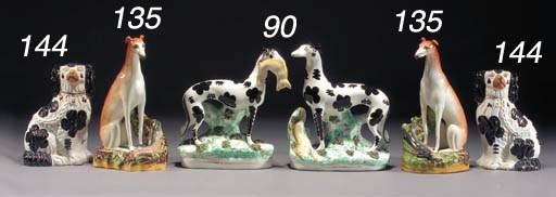 A pair of models of 'Disraeli'